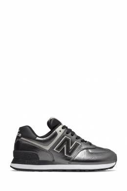 Черные блестящие кроссовки New Balance 433153083
