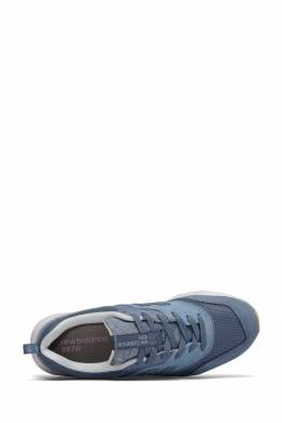Голубые кроссовки с логотипом New Balance 433153050