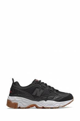 Черные кроссовки с белой подошвой New Balance 433153078