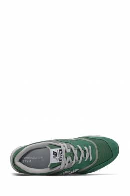 Зеленые кроссовки с серыми вставками New Balance 433153045