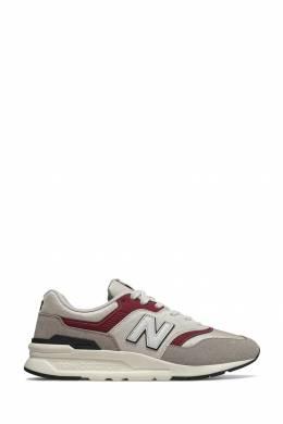 Бежевые кроссовки с контрастной отделкой New Balance 433153046