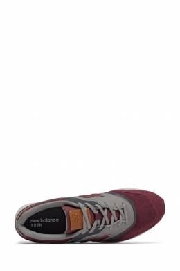 Бордовые кроссовки с серыми вставками New Balance 433153039