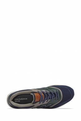 Сине-зеленые кроссовки New Balance 433153036