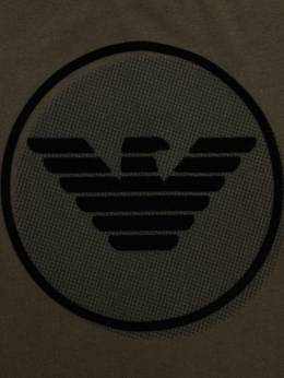 Футболка Из Хлопкового Джерси С Логотипом Emporio Armani 70IWJU013-MDU1Nw2