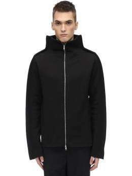 Tubular Wool Blend Jersey Jacket Maison Margiela 70IGZ4004-OTAwRg2