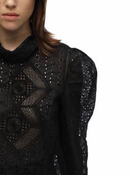 Рубашка Из Хлопка Isabel Marant 70I1JT047-MDFCSw2