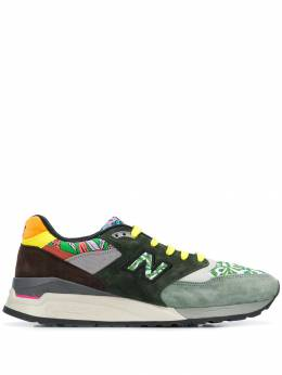 New Balance - Made US 998 sneakers 8AWKSUEDEOLIVE955658