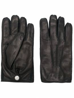 Alexander McQueen - logo embossed gloves 8585B83Q955959360000