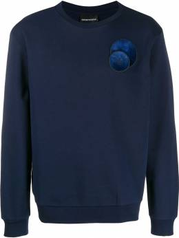 Emporio Armani - relaxed-fit logo patch sweatshirt MD99J36Z955936090000