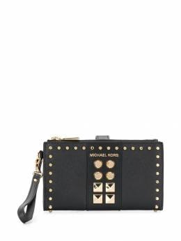 Michael Michael Kors - Adele studded wallet 9GJ6W3L9559599800000