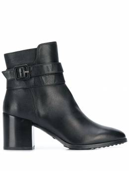 Tod's - buckle strap ankle boots 83B6BQ96NGXB99995563
