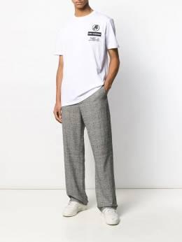 Karl Lagerfeld - футболка с вышитым логотипом 65965900039598359600