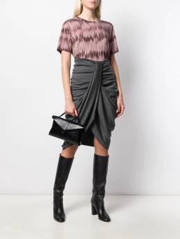 Isabel Marant - Datisca draped skirt JU965099H609I9560996