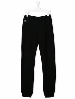 Philipp Plein Junior - TEEN logo printed track pants CGJT6099PJO660N95569