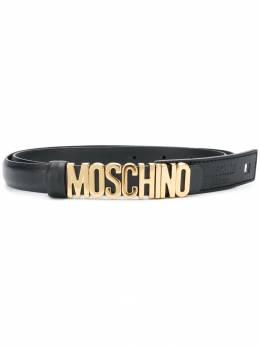 Moschino - ремень с логотипом 68866993965936000000