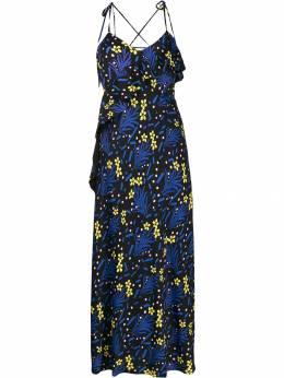 Self-Portrait - floral print maxi dress 39959558366500000000