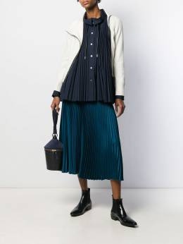 Sacai - zipped fitted cardigan 53369559033900000000