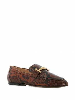 Tod's - snake print loafer 39A6Z336THY955953960