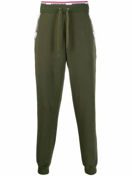 Moschino - logo tape track trousers 38969955990860000000