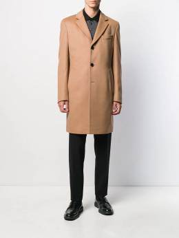 Boss Hugo Boss - fitted single-breasted coat 95680955963530000000