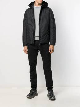 CP Company - feather down hooded jacket 968A665035A955955590