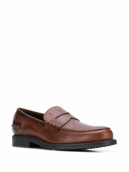 Tod's - logo embossed penny loafers 86B6BR36QAX955995690