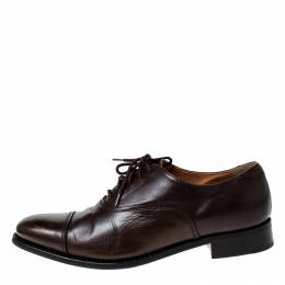 Church's Brown Leather Toronto Lace Up Oxfords Size 37 227250
