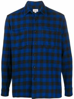 Woolrich - check print shirt AM6366UT983395566065