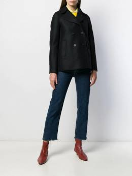 Harris Wharf London - straight double-breasted jacket 99MLK955955530000000