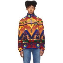 Polo Ralph Lauren Multicolor Fleece Southwestern Sweater 192213M20201504GB