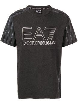 Ea7 Emporio Armani - футболка с принтом T98PJ65Z933658390000