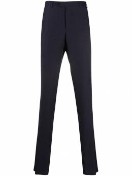 Canali - slim fit tailored trousers 93AA6996695593396000