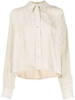 Isabel Marant - вельветовая рубашка свободного кроя 55999A699I9555639300