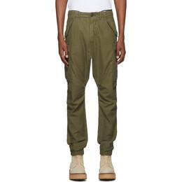 R13 Khaki Surplus Cargo Pants 192021M18800301GB