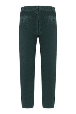 Зеленые вельветовые брюки Il Gufo 1205153630