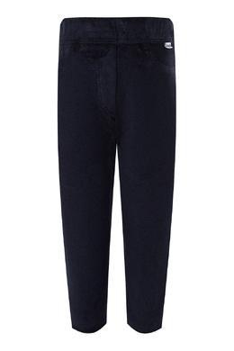 Прямые темно-синие брюки Il Gufo 1205153634