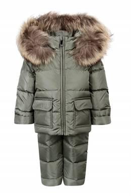 Зеленый зимний костюм Il Gufo 1205153628