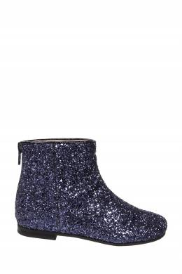 Ботинки с синим декором Il Gufo 1205153612