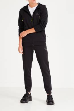 Черный спортивный костюм с отделкой Ea7 2944154111
