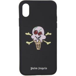 Palm Angels Black ICECREAM Edition iPhone X Case 192695M15300401GB