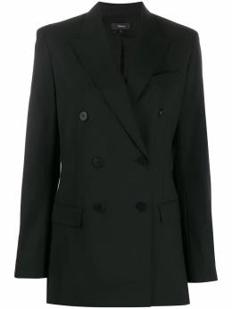 Theory double-breasted fitted jacket J0101116