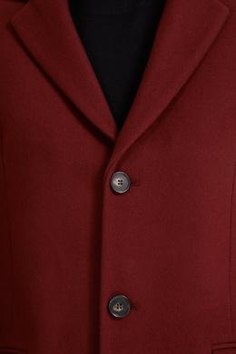 Бордовое пальто Sandro 914153169