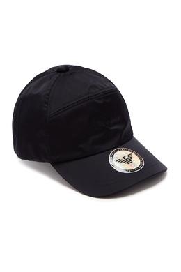 Темно-синяя бейсболка с логотипами Emporio Armani 2706154145