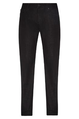 Черные джинсы из хлопка Emporio Armani 2706153901