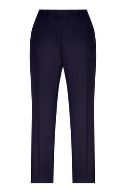 Синие брюки из шерсти Sandro 914153173
