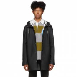 Stutterheim Black Stockholm Raincoat 192924M17600803GB