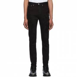 Stolen Girlfriends Club Black T-Rex Shred Jeans 192068M18600301GB