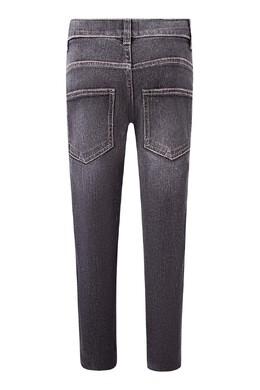 Серые джинсы с лампасами Fendi Kids 690154023