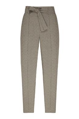 Серые брюки со стрелками и поясом Isabel Marant 140154883