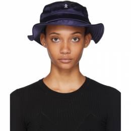 Opening Ceremony SSENSE Exclusive Black Neoprene Bucket Hat 192261F01500401GB